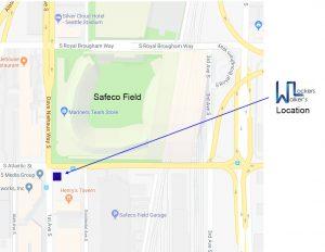 Safeco Field Walker's Lockers Service Location
