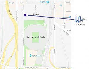 Walker's Lockers Service Location at CenturyLink Field